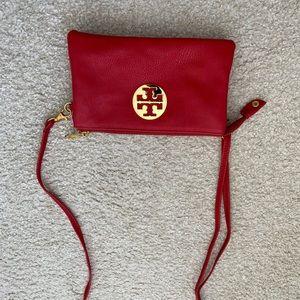 Red Tory Burch Crossbody Bag